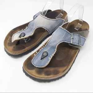 Birkenstock Gizeh Jean Denim Sandals